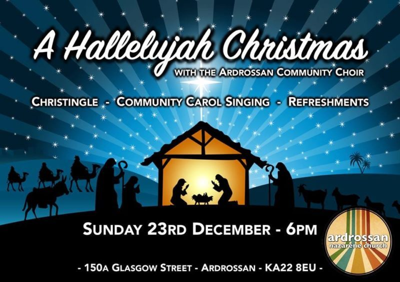 Christmas Hallelujah.A Hallelujah Christmas Ardrossan Church Of The Nazarene
